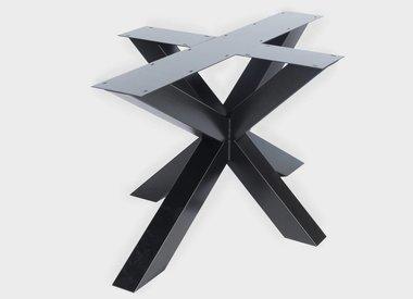 Tischbeinen Metall von Eichenholzprofi.de